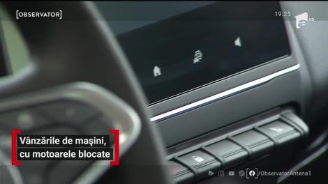 Vânzări de mașini, cu motoare blocate