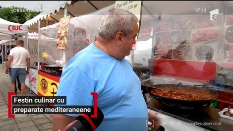Festin culinar cu preparate mediteranene, în Baia Mare