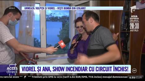Viorel Stegaru şi sosia Irinei Loghin, show demenţial la fereastră! |Video