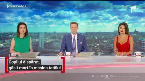 Copilul dispărut din Cluj, găsit mort în mașina tatălui