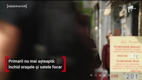 Masca de protecţie este obigatorie pe stradă în Argeş