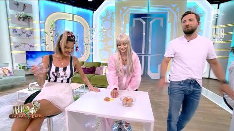 Provocarea cu ouă sparte, cu Liviu Teodorescu și Nadia. Iată cine a câștigat