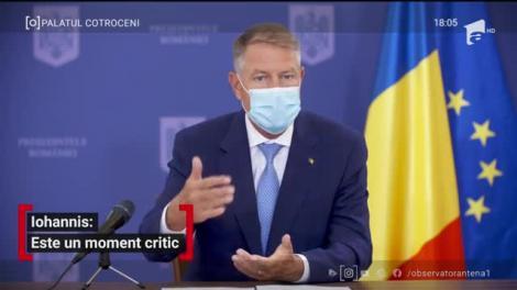 Klaus Iohannis, anunț important pentru români