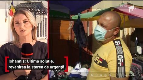 Klaus Iohannis: Starea de urgenţă va fi ultima soluţie