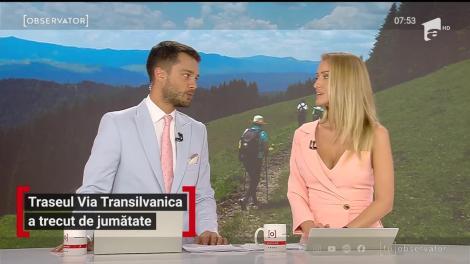 Traseul Via Transilvanica a trecut de jumătate