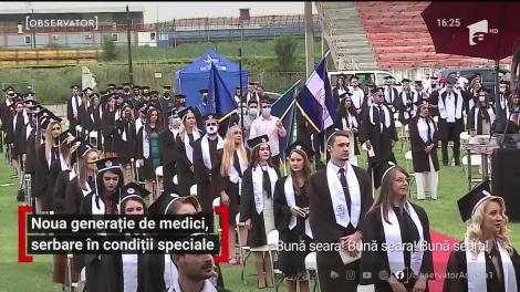 Noua generație de medici, serbare în condiții speciale