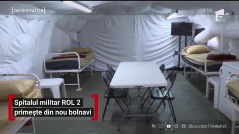 1.075 de noi cazuri de infectare cu Covid-19. Oficialii au redeschis spitalul militar mobil de la Ana Aslan