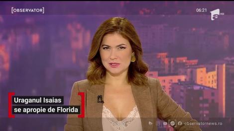 Uraganul Isaias se apropie tot mai mult de Florida. Cum se pregătesc autorităţile