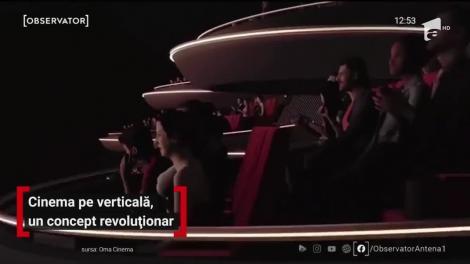 Cinema pe verticală, un nou concept revoluționar