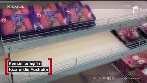 Români prinși în focarul din Australia