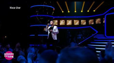 Sergiu, de pe scena X Factor, la Rămân cu tine. Concurentul a cântat live!