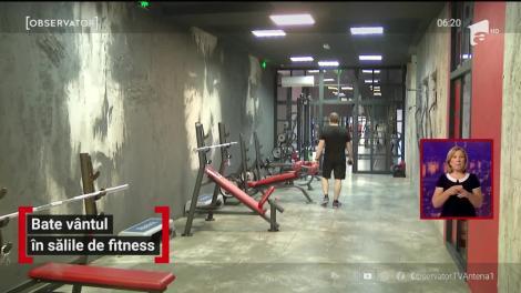 Sălile de fitness au rămas aproape pustii, chiar şi la două luni după ce au fost redeschise