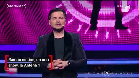 """Un nou show la Antena 1! """"Rămân cu tine"""", începe la ora 20.30"""