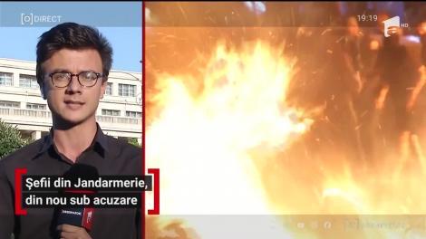 Șefii din Jandarmerie, din nou sub acuzare