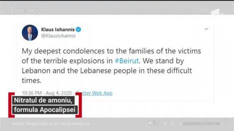 """Mărturiile românilor captivi în infernul din Beirut: """"E nenorocire. Sunt oameni care plâng după ce cei pe care i-au piedut!"""" Atenție, imagini care vă pot afecta emoțional!"""