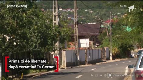 Prima zi de libertate după carantină în Gornet