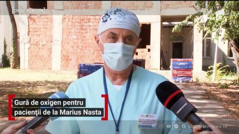 Gură de oxigen pentru pacienții de la Marius Nasta