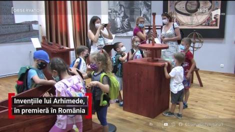 Invențiile lui Arhimede, în premieră în România