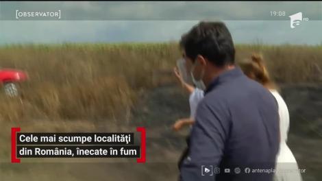Cele mai scumpe localități din România, înecate în fum