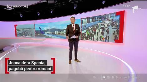 Spania, introdusă pentru zece ore pe lista galbenă. Oamenii au pierdut avioane şi vacanţe, apoi a fost scoasă de pe liste