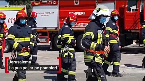 Jerusalema Challenge i-a pus pe jar pe pompierii timişoreni
