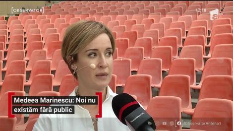 """Medeea Marinescu, despre viața de actor în pandemie: """"Mi-am dat seama că avem o meserie fragilă. Nu existăm fără public"""""""