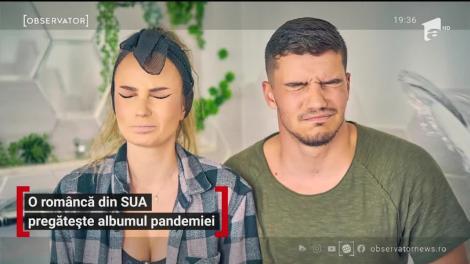 O româncă din SUA pregătește albumul pandemiei