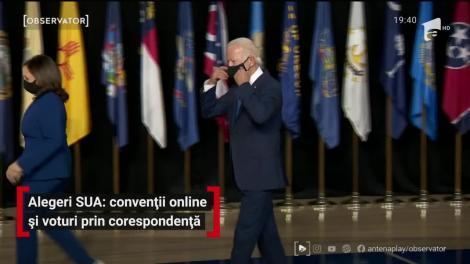 Alegeri SUA: convenții online și voturi prin corespondență