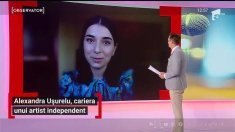 Alexandra Uşurelu, carieră unui artist indepedent