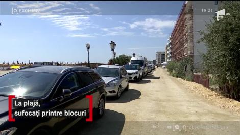 La plajă, sufocați printre blocuri. Năvodariul arată ca un deşert invadat de blocuri şi clădiri înghesuite