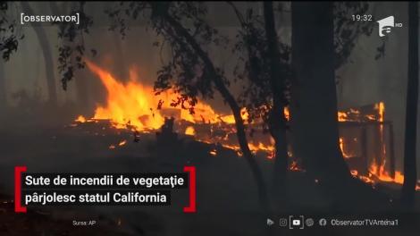 Cel puţin şase oameni au murit în sutele de incendii uriaşe care devastează California