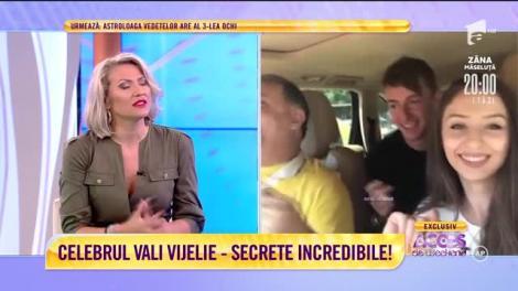 Celebrul Vali Vijelie, secrete incredibile, la Acces Direct!