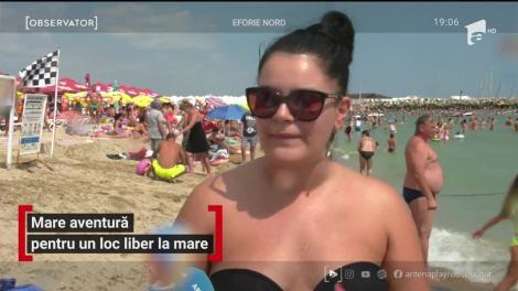 Au mers la plajă, în căutarea unui loc retras şi au nimerit tot în aglomeraţi