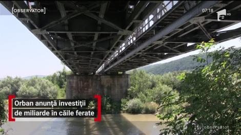 Ludovic Orban anunță investiții de miliarde  în infrastructura CFR