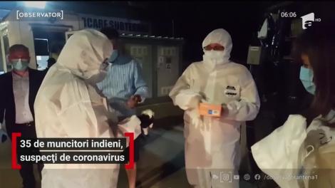 35 de muncitori indieni sunt suspecţi de coronavirus în Capitală