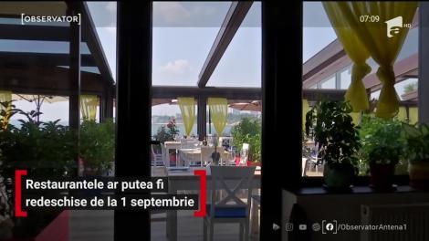 Restaurantele ar putea fi redeschise. De la ce dată