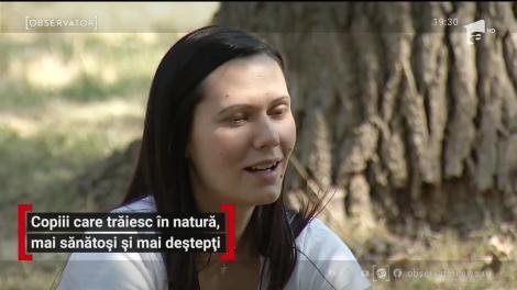 Copiii care trăiesc în natură, mai sănătoși și mai deștepți