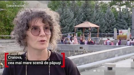 Craiova, cea mai mare scenă de păpuși