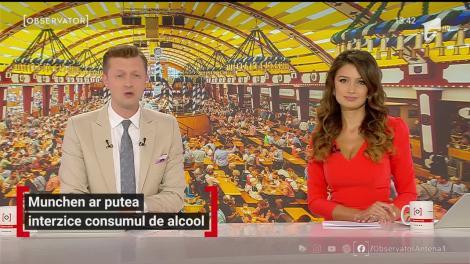Munchen ar putea interzice consumul de alcool în spaţiul public