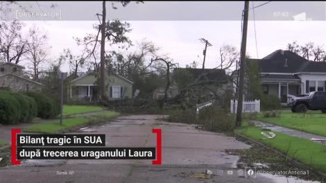Bilanț tragic în SUA după trecerea uraganului Laura