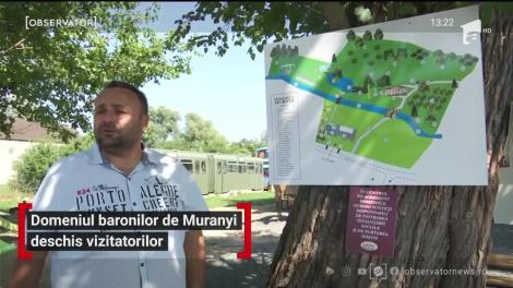 Domeniul baronilor de Muranyi deschis vizitatorilor