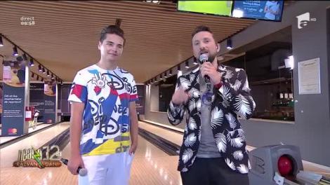 Super provocare pentru Selly! Vloggerul joacă bowling alături de echipa de la Neatza cu Răzvan și Dani