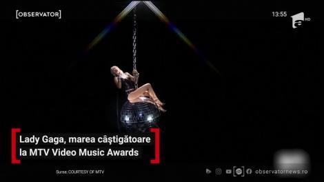Lady Gaga, marea câștigătoare la MTV Video Music Awards