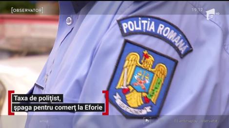 Şeful poliţiei din Eforie lua şpagă ca să închidă ochii la comerţul ilegal de pe plaje