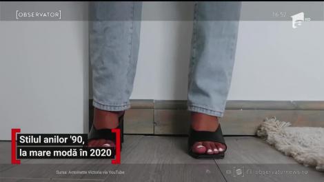 Stilul anilor 90 revine la modă în 2020