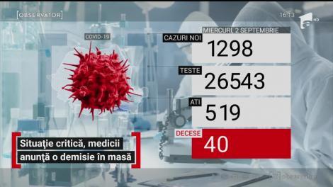 Situație critică în spitale, medicii anunță o demisie în masă