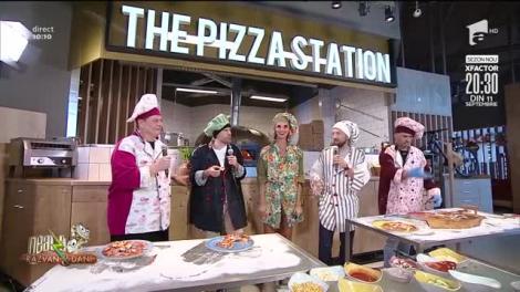 Cine face cea mai gustoasă pizza? Răzvan Simion: Eu fac una delicată, așa ca mine la 40 de ani, ușor de rănit!
