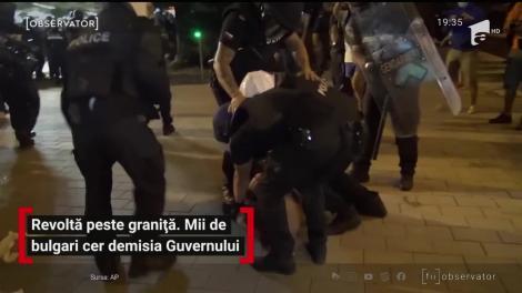 Proteste violente în Bulgaria