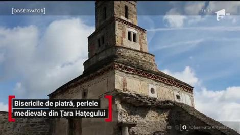 Bisericile de piatră, perlele medievale din Țara Hațegului