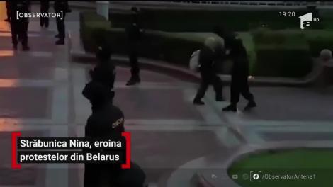 Străbunica Nina, eroina protestelor din Belarus
